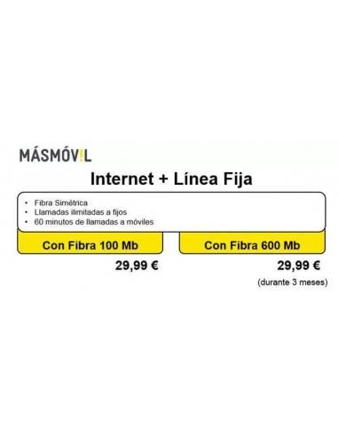 FIBRA SIMÉTRICA 100Mb o ADSL