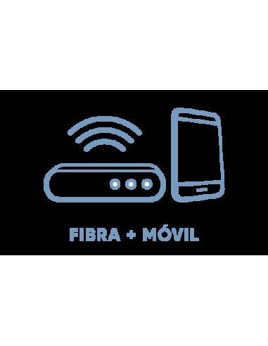 Tarifa Fibra 100 Mb y Pequeña ∞